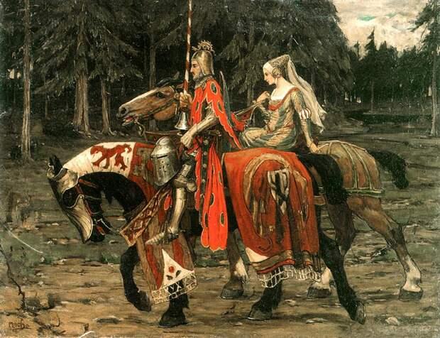 Новое сословие — средневековые рыцари. История возникновения рыцарского ордена
