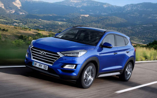 Hyundai разрабатывает мощный Tucson