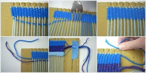 How-to-Weave-Rug-with-Cardboard-and-Fork3-e1431127726695