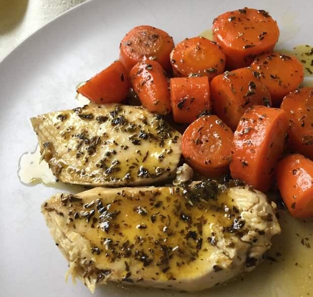 Гарнир из морковки - ...