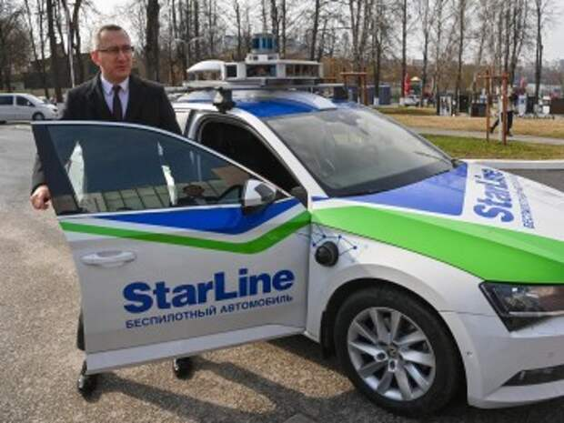 Владислав Шапша прокатился на беспилотном автомобиле