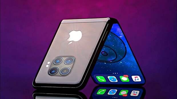 Apple выпустит первый гибкий iPhone в 2023 году