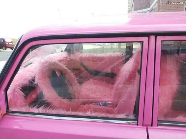 25 фактов того, женщина и автомобиль - это полный Писец!