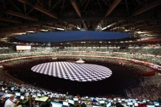 В Токио началась церемония открытия летних Олимпийских игр