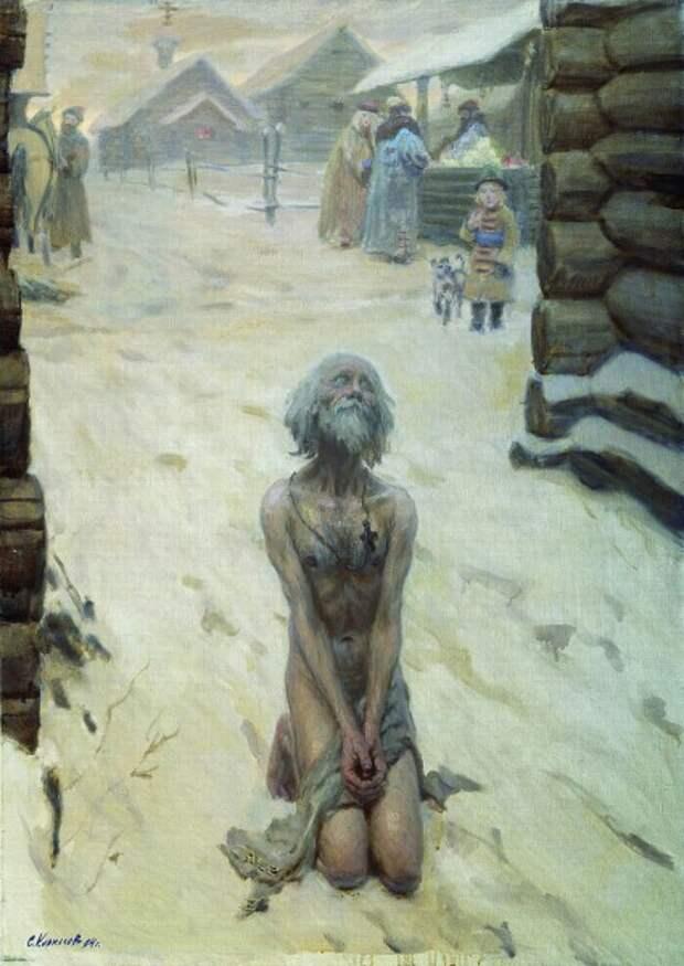 Зачем Василий Блаженный разбил на Варварских воротах чудотворный образ Богоматери