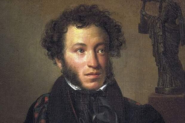 Александр Пушкин, портрет работы О. А. Кипренского. 1827 год.