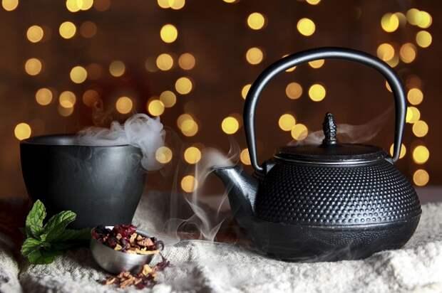 Стильная посуда превратит чаепитие в настоящий ритуал. / Фото: oboi.ws