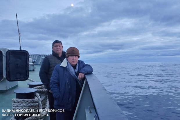 Вадим Николаев и Егор Борисов