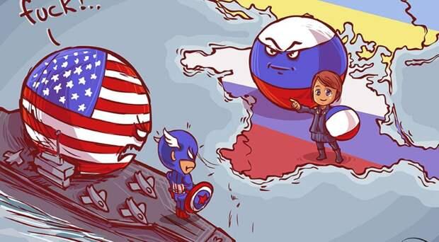 Благополучная Америка и бедная, бедная Россия…