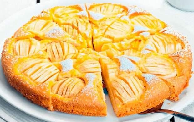 ЯБЛОЧНО-БАНАНОВЫЙ пирог на кефире