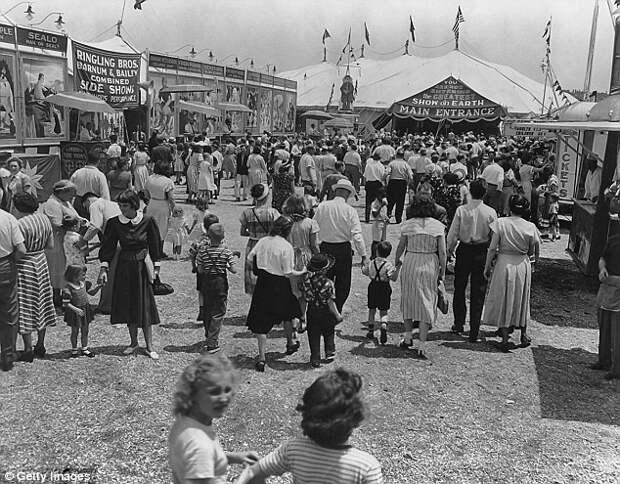 Цирк развлекал публику 146 лет закрытие, сша, цирк