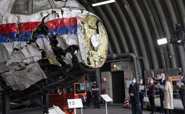 На фото: выездное заседание суда по делу MH17 на военно-воздушной базе Гилзе-Рейн в Нидерландах