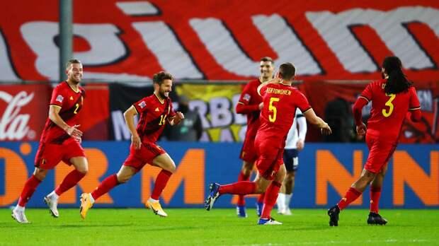 Бельгия победила Англию, которая лишилась шансов выйти в финальную стадию Лиги наций