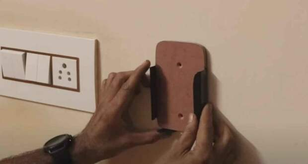 Как сделать настенный держатель для мобильного телефона