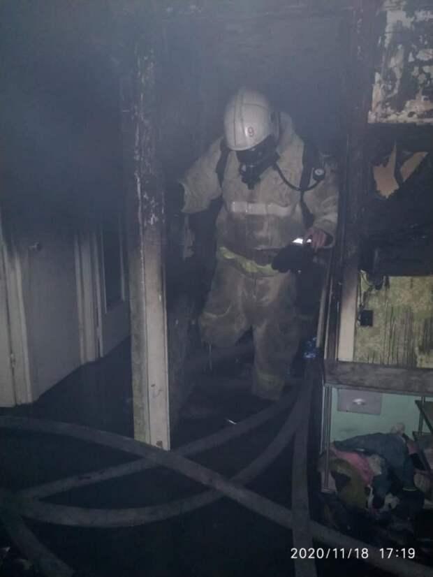 В Ялте при пожаре погибла женщина