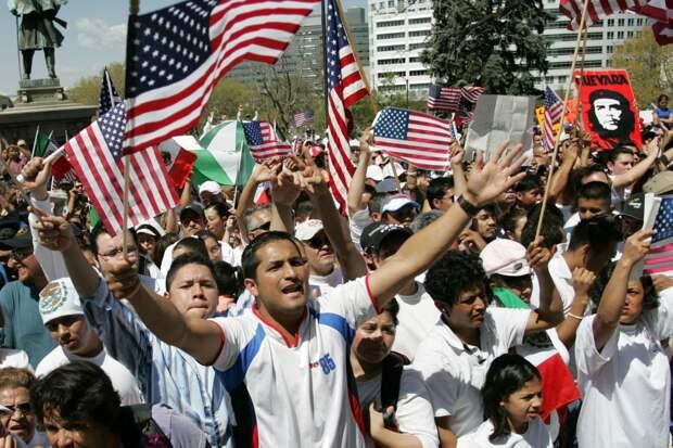 В США сокращается численность белого населения