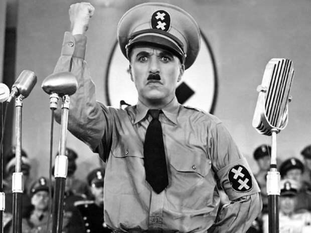Кадры из фильма «Великий диктатор», 1940 год (Wikimedia / The Great Dictator )