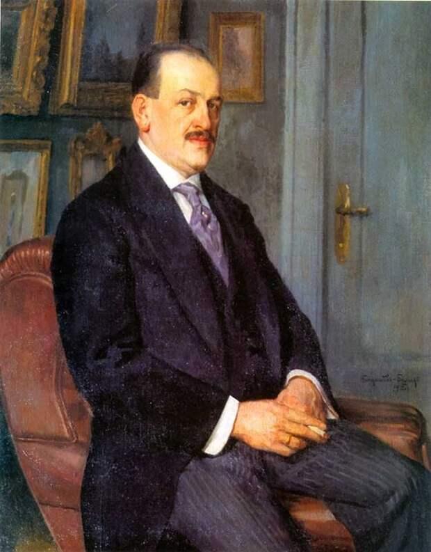 Автопортрет. Н. П. Богданов-Бельский, 1915 год. | Фото: russkije.lv.