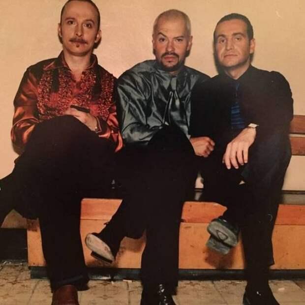 Иван Охлобыстин, Федор Бондарчук, Леонид Агутин СССР, прошлое, фото