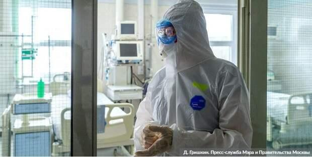 Резервный госпиталь в «Сокольниках» принял первых пациентов с COVID-19. Фото: Д. Гришкин mos.ru