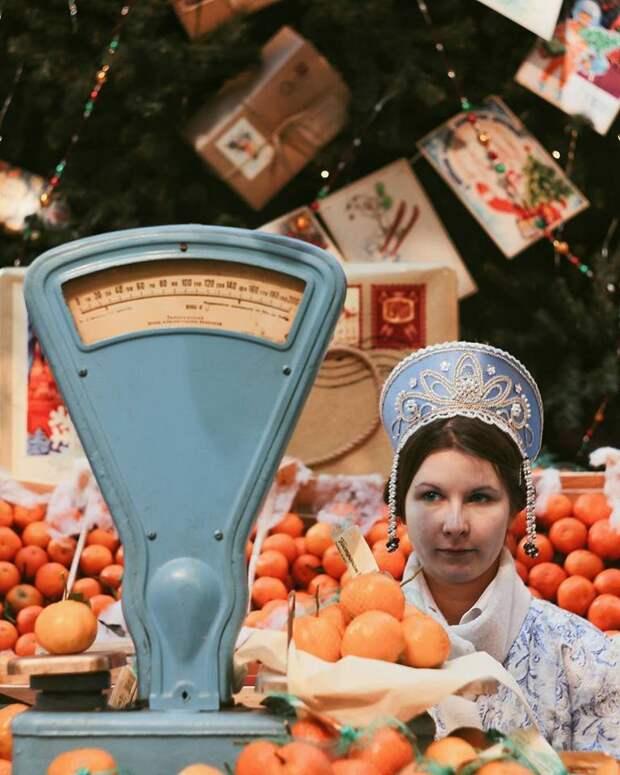 Новый год пахнет мандаринами
