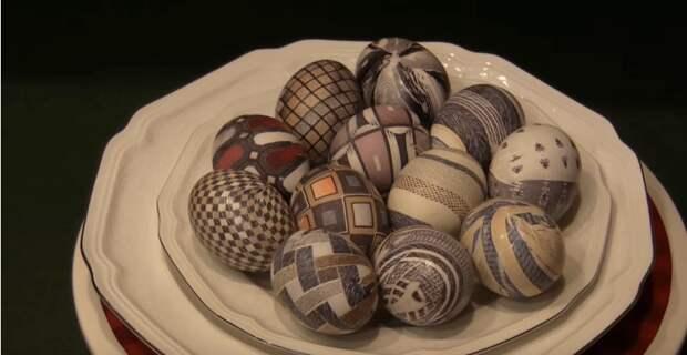 Как покрасить яйца на Пасху? Самый красивый и простой способ