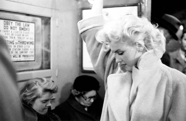 Мэрилин Монро на фото Эда Файнгерша