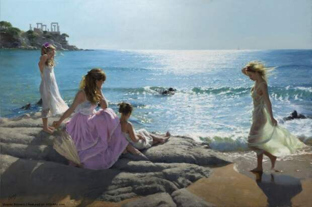 Этот испанский художник - единственный в мире, кто умеет рисовать свет. Смотрите сами