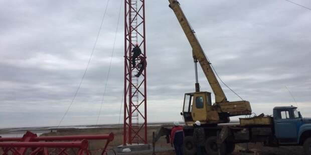 Будет обидно, когда обрушится: в Крыму отреагировали на строящуюся украинскую радиовышку