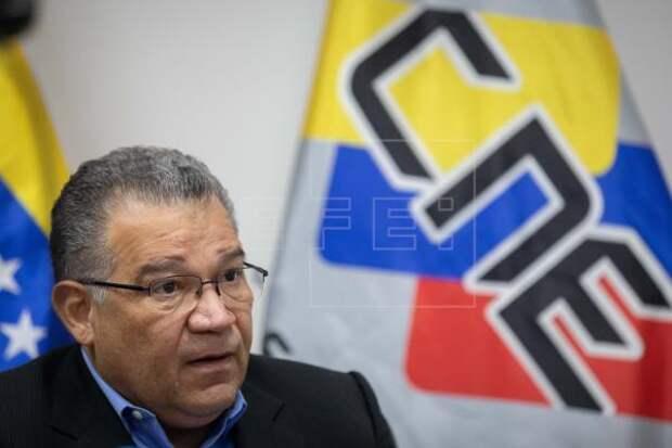 VENEZUELA ELECCIONES - Rector electoral venezolano responde al chavismo que solo cumple con su deber