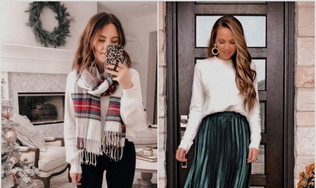 Праздничный сезон: как одеваться в декабре 2020 и придать образам новогоднюю атмосферу