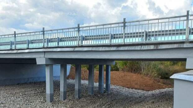 При ремонте моста в Удмуртии исчезла речка Котовка