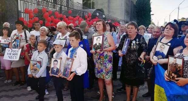 Матери погибших укровоинов обратились к России