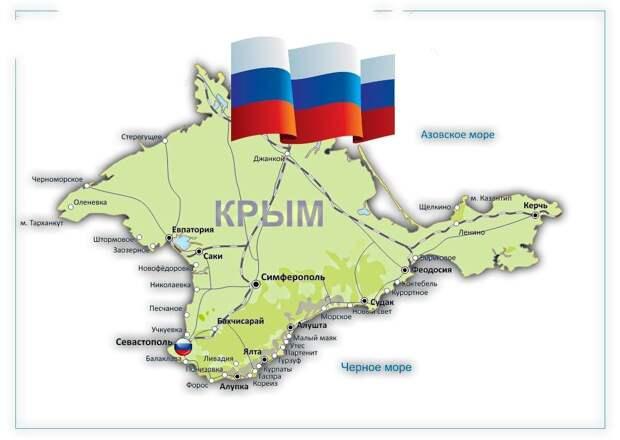 Фантомные боли украинских политиков из-за российского Крыма