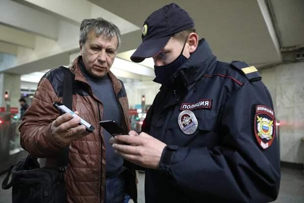 В московском метро образовались очереди из-за проверки пропусков