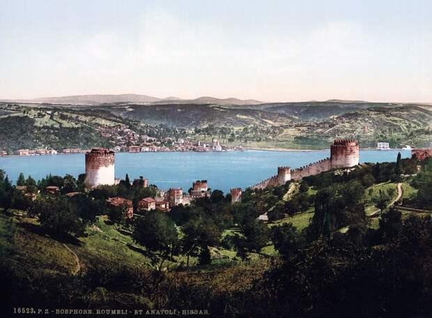 Цветные открытки Константинополя 13
