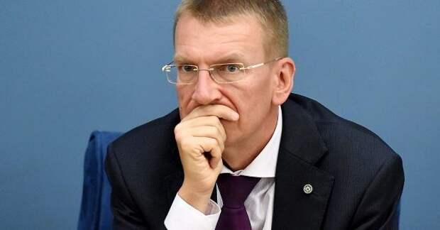Министр иностранных дел Латвии поздравил россиян нарусском языке