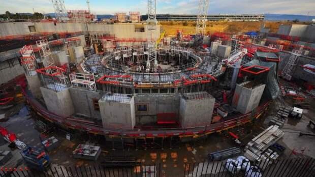Термоядерный реактор ITER. | Фото: LiveJournal.