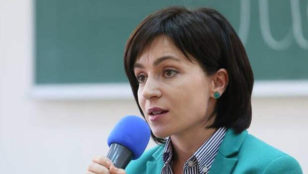 Санду заявила, что нарушений на выборах в Молдавии достаточно для их аннулирования
