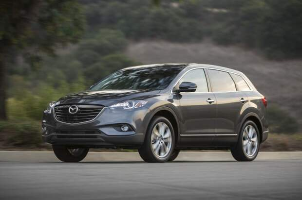 Mazda CX-9 – популярный ранее старичок, ожидающий замену.