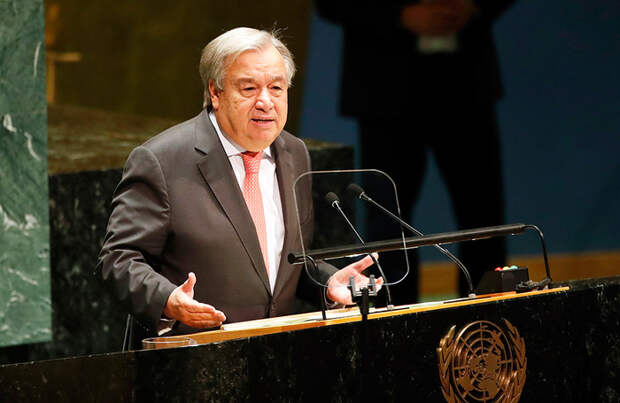 Генсек ООН Антониу Гутерриш призвал Израиль и ХАМАС немедленно прекратить насилие