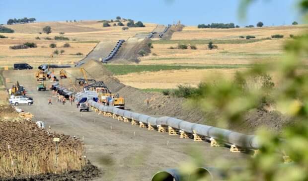 «Южный газовый коридор» изАзербайджана подсоединили кИталии