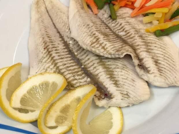 Филе камбалы в кур-буйоне или Овощной бульон для припускания рыбы