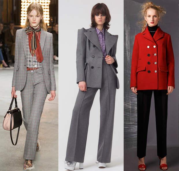 Какие брюки в моде осенью и зимой 2018