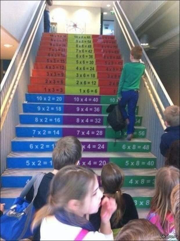 Лестница в школе + 2