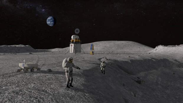 Астронавт, высадившийся на Луну по программе «Артемида», 2020-й год