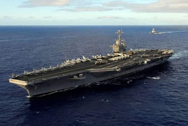 США готовы заменить часть атомных авианосцев на более легкие аналоги