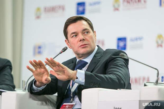 VIII Гайдаровский форум, второй день. Москва, портрет, жест рукой, мордашов алексей