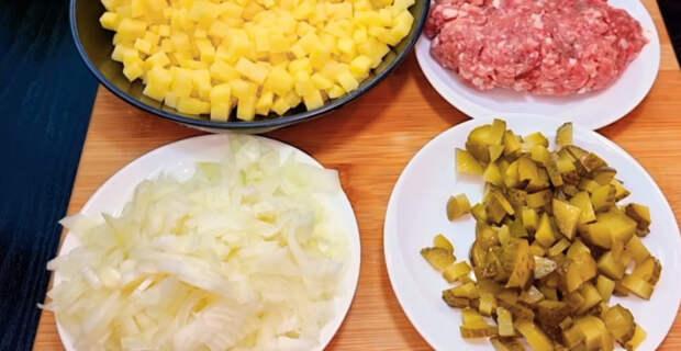 Вкуснейший завтрак или ужин: пирожки, которые готовятся без теста