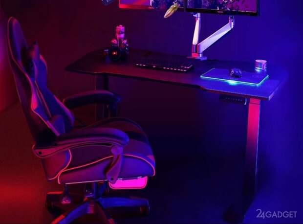 Геймерский смарт-стол Loctek от Xiaomi позволит играть стоя